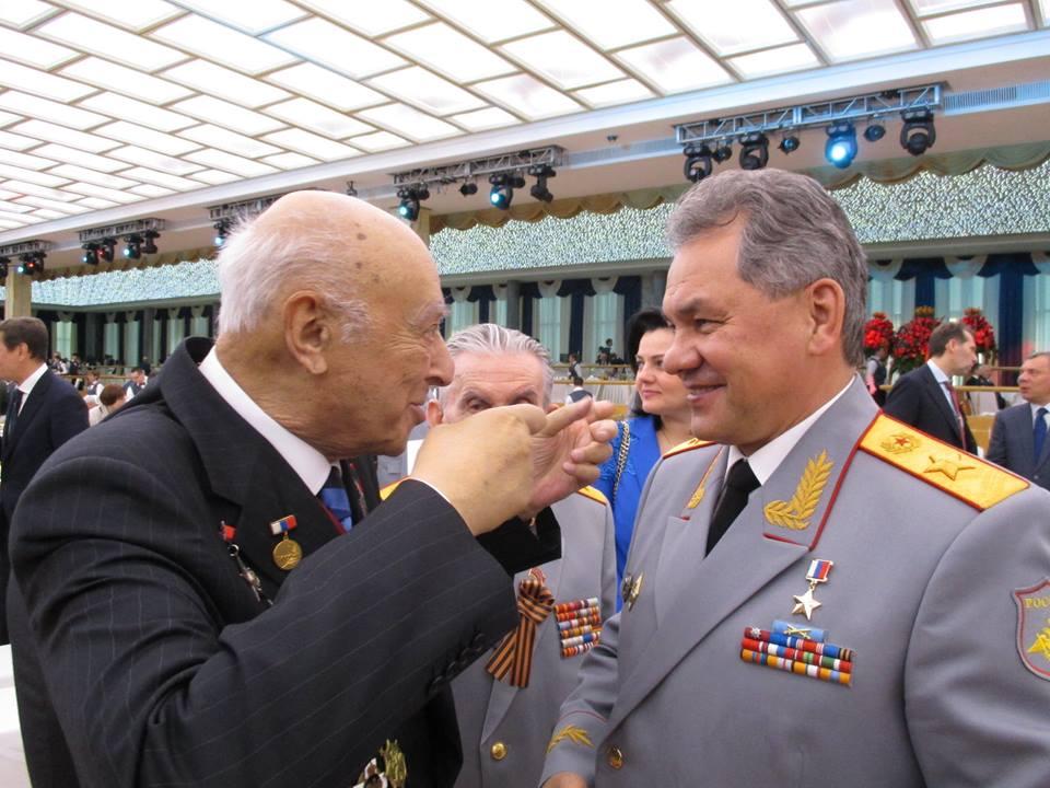 Владимир Этуш, Сергей Шойгу